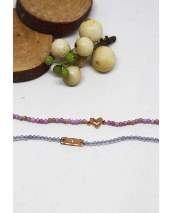 Sapphire Gold Opa Bracelet