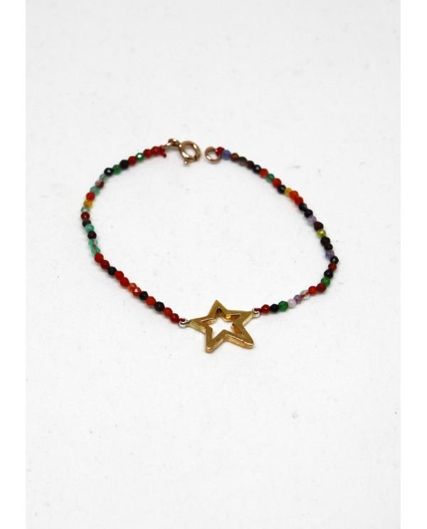 Rainbow Onix Bracelet