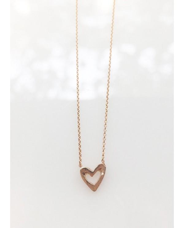Minik Kalp Altın Kolye
