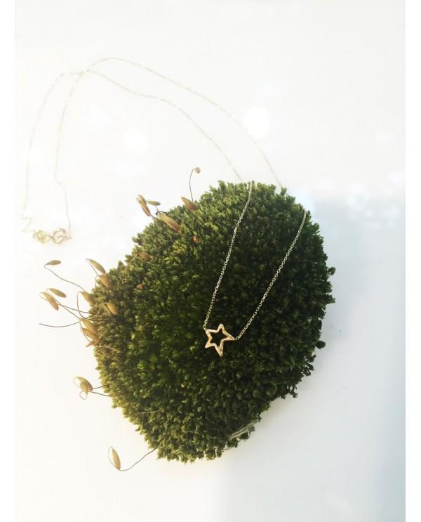 Minik Yıldız Altın Kolye
