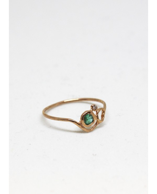 Topkapı Art Nouveau Ring