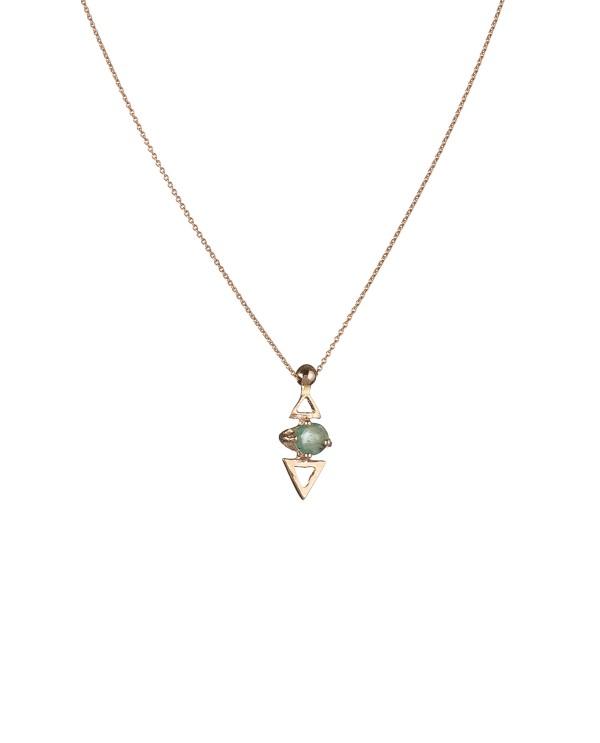 Topkapı Triangle Emerald Necklace