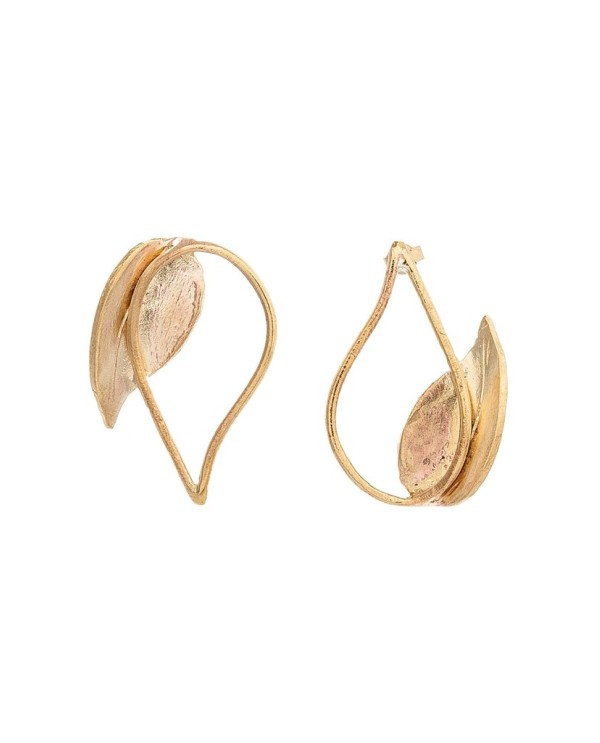 İkili Damla Küpe-Two Drop Earrings