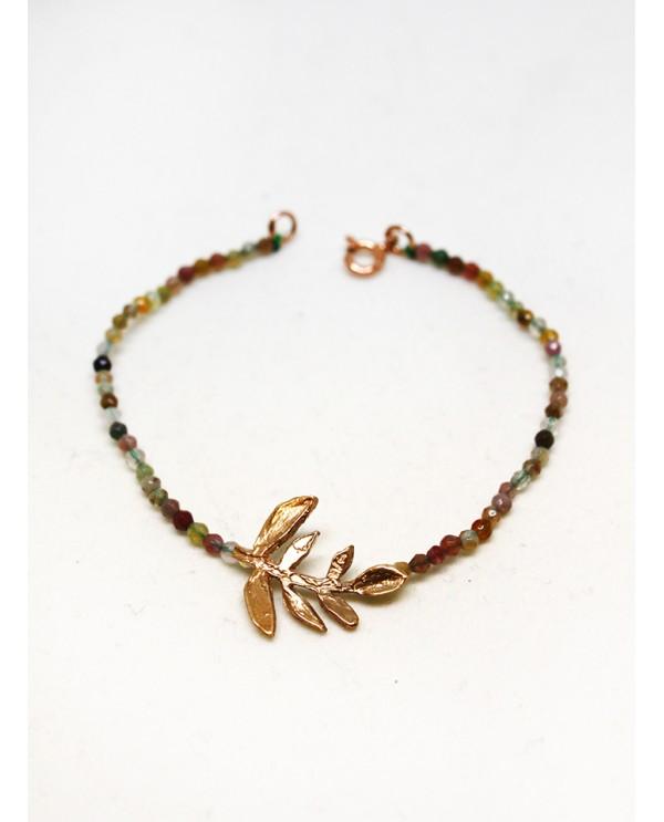 Olive Branch Onix Bracelet