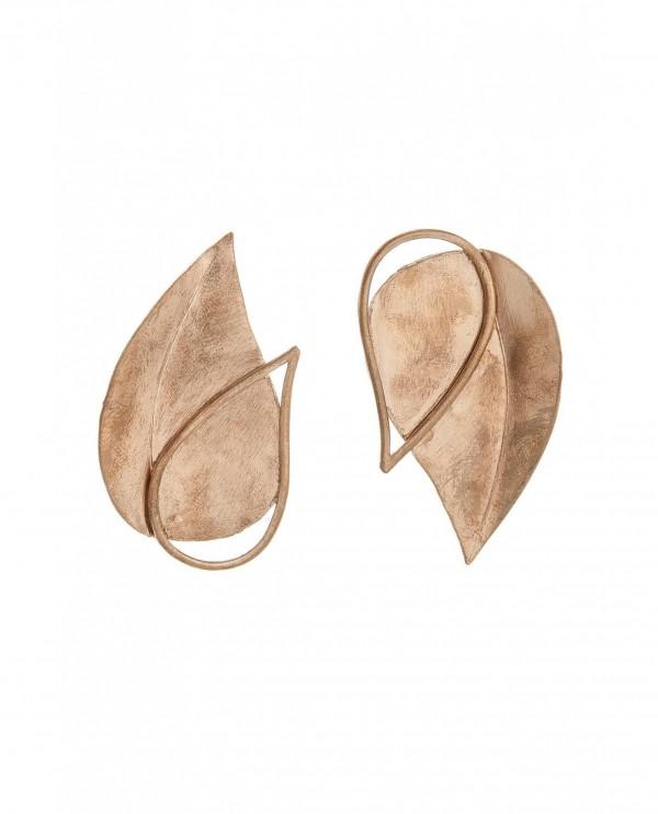 Double Tulip Big Earrings