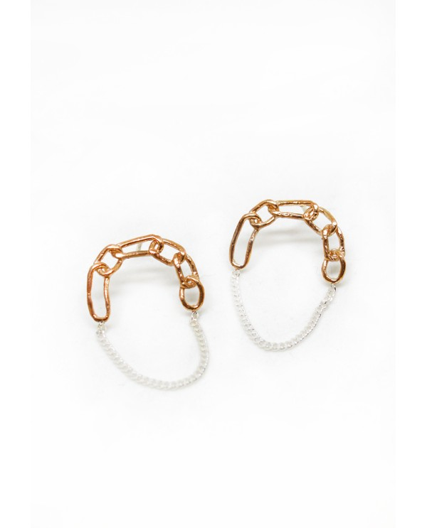Chained Chain Earrings