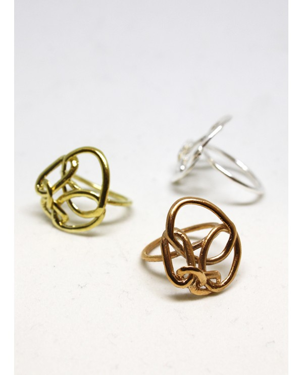 Chain Circle Ring